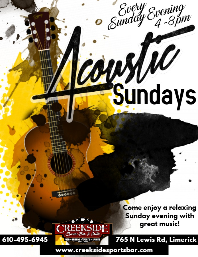 Acoustic Sundays 2018